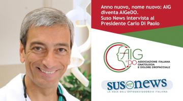 Suso News intervista il Presidente AIGeDO 2021